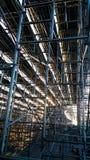 Structure métallique image stock