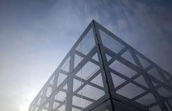 Structure métallique en verre et Photo libre de droits