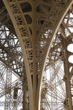 Structure métallique, Tour Eiffel Image libre de droits