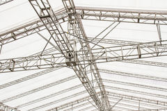 Structure of modern building roof Royalty Free Stock Photos