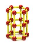 Structure moléculaire Photo stock