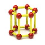 Structure moléculaire Image libre de droits