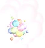 Structure moléculaire Photo libre de droits