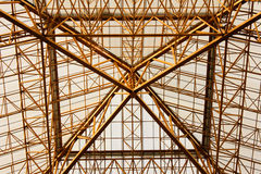 Structure métallique Photographie stock libre de droits