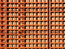 Structure nue de faisceau en métal de Téhéran construisant en construction Image stock