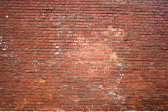 Structure Of An Old Red Brick Wall Royalty Free Stock Images