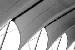 Free Structure Of White Canvas Roof Pattern. Royalty Free Stock Image - 155526346