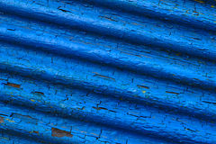 Structure of the old blue shutters Royalty Free Stock Photos