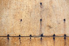 Structure of old plywood Royalty Free Stock Photos