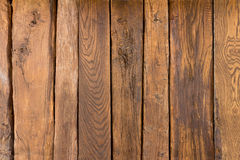 Structure of old wooden. Ceiling of a background, brown stock image