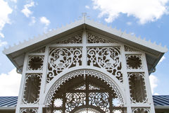 Structure with Ornaments Stock Image