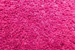 Structure of a pink bright fluffy carpet stock images