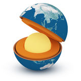 Structure of the planet Royalty Free Stock Photography