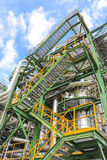 Structure of process plant Royalty Free Stock Images