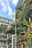 Structure of process plant Royalty Free Stock Photography