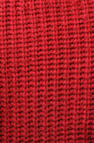 Structure red fabric Stock Image