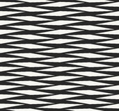 Structure of repeating rhombuses, African ancient fabric design Stock Image