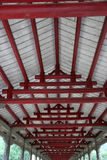 The structure of the roof Royalty Free Stock Photo