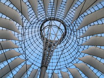 Structure of sails Stock Photography