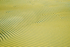 The structure of the sand on the beach Stock Image