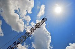 Structure and sky Royalty Free Stock Photo