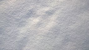Structure of snow surface Stock Images