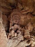 Structure souterraine géante de méduses images stock