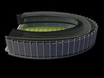 Structure of the Stadium Stock Image