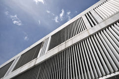 Structure of steel building Stock Images