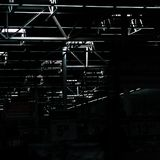 View of warehouse store ceiling royalty free stock photo