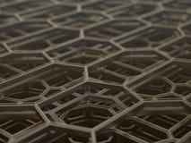 Structure technologique abstraite illustration de vecteur