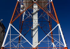 Structure of a Telecommunication Antenna Stock Images
