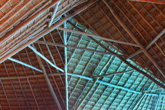 Structure of thatch roof Royalty Free Stock Image