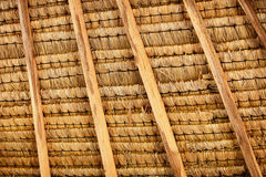 Structure of thatched roof Royalty Free Stock Photo