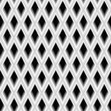 Structure tridimensionnelle de la grille Photographie stock