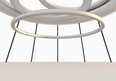 Structure vide intérieure Image stock