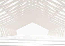 Structure vide intérieure Photos libres de droits
