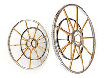 Structure of a wheel. Royalty Free Stock Photo