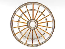 Structure of a wheel Royalty Free Stock Photos