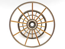 Structure of a wheel. Stock Photography