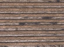 Structure of a wooden plank Royalty Free Stock Image