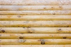 Structure of a wooden wall Stock Image