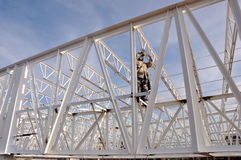 Structure worker Stock Photo