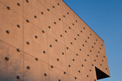 Structured building wall Royalty Free Stock Photography