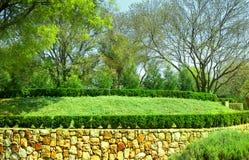 Structured garden Stock Image