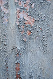Structured metal surface Stock Photography