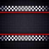 Structured metallic perforated for race sheet background Royalty Free Stock Images