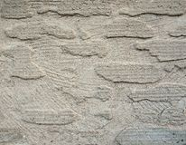 Structured plaster Royalty Free Stock Photography