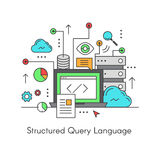 Structured Query Language SQL Stock Images