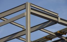 Structureel staal Stock Foto